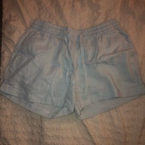 Old Navy baby blue chino shorts